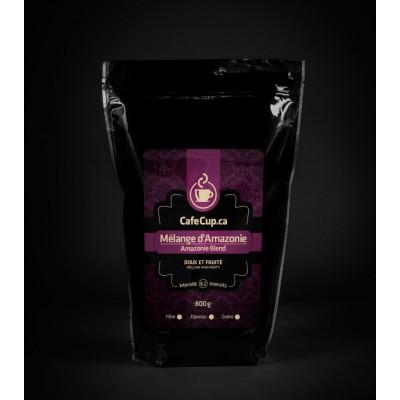 Mélange Amazonie, café en vrac, format 800g