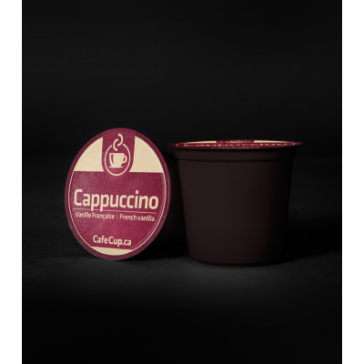 K-Cups Cappuccino vanille française   24 dosettes