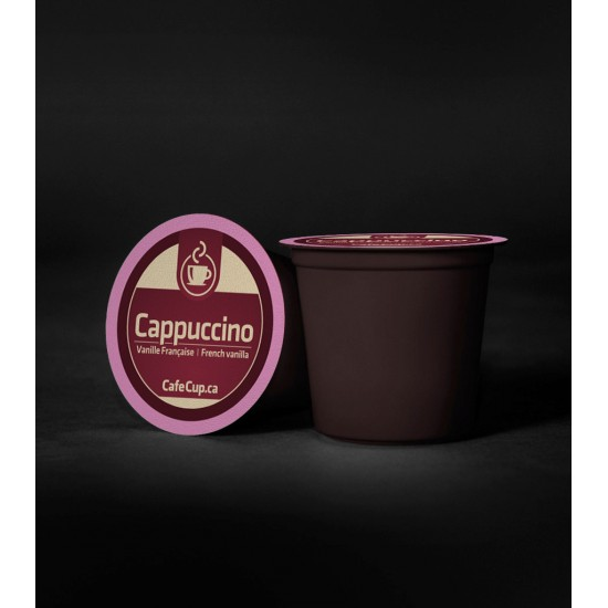 K-Cups Cappuccino vanille française | 24 dosettes