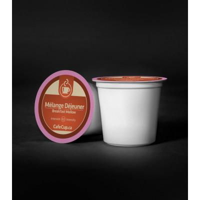 K-Cups Mélange déjeuner | 24 Dosettes | intensité 8.0 | capsule recyclable