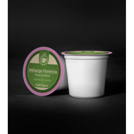 K-cups Mélange Florencia capsule recyclable