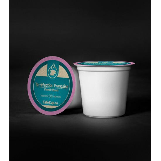 K-Cups Torréfaction française | 24 Dosettes | intensité 9.0 |capsule recyclable