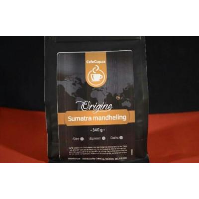 Café Indonésie Sumatra Mandheling Origine 100% | vrac, format 340g | Intensité 8.0