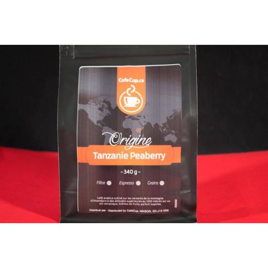 Café Tanzanie Peaberry Origine | Café en vrac, format 340g | Intensité 8.0
