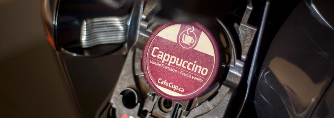Café cup dosette