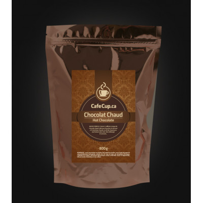 Chocolat Chaud CaféCup 800g, excellent après une activité extérieur